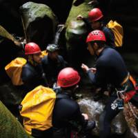 A full day abseiling adventure in Claustral Canyon |  <i>Jake Anderson</i>