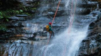 Descending Empress Falls