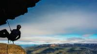 Abseiling opportunities are abundant in the Blue Mountains |  <i>David Hill</i>