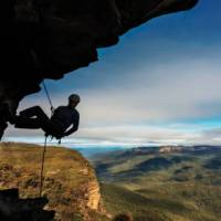 Abseiling opportunities are abundant in the Blue Mountains | David Hill