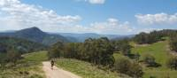 Spectacular views looking out towards Katoomba and the western escarpments of the Blue Mountains   Linda Murden